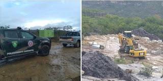 Cippa Lençóis atua no combate à extração de Minério em Piatã