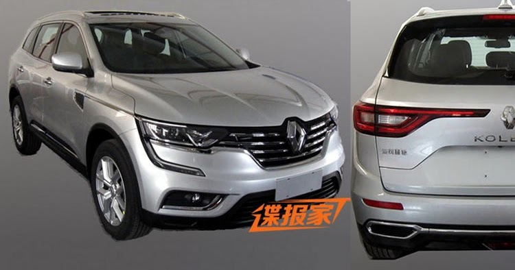 new 2017 renault koleos suv this is it. Black Bedroom Furniture Sets. Home Design Ideas
