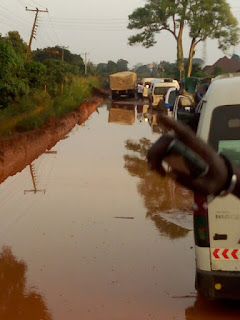 The Current State Of Onicha Ugbo Federal Road In Delta State
