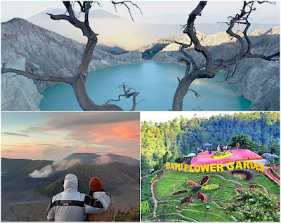 Ijen Crater, Mt Bromo, Malang City Tour Package 5 Days