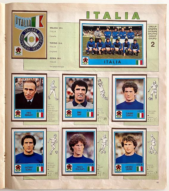 Italia figurine europa 80