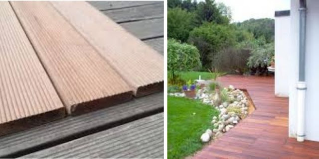 decking keruing