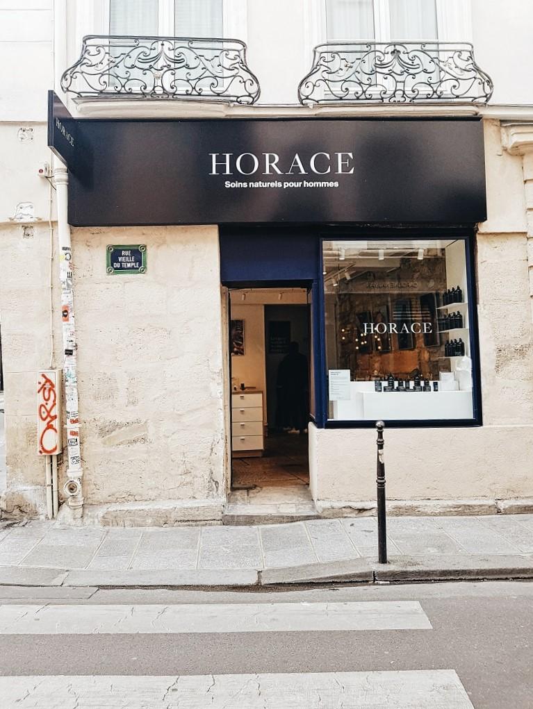 Horace: la marque de cosmétiques pour hommes Paris