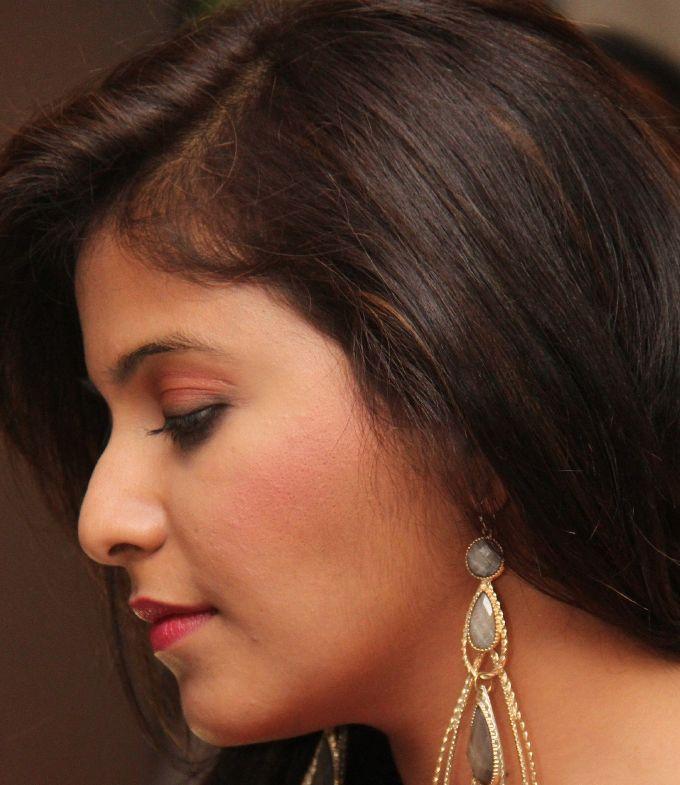 Gorgeous Telugu Girl Anjali Without Makeup Real Face Closeup