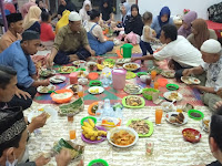 "Ketua IWO Sergai Buka Puasa Bersama Sajikan Menu Unggulan ""Ikan Sombam"""