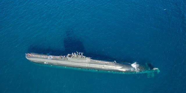 Okeanos, único submarino tipo 209 actualizado con tecnología AIP