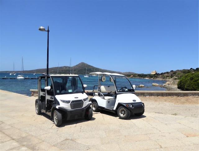 auto elettriche Asinara