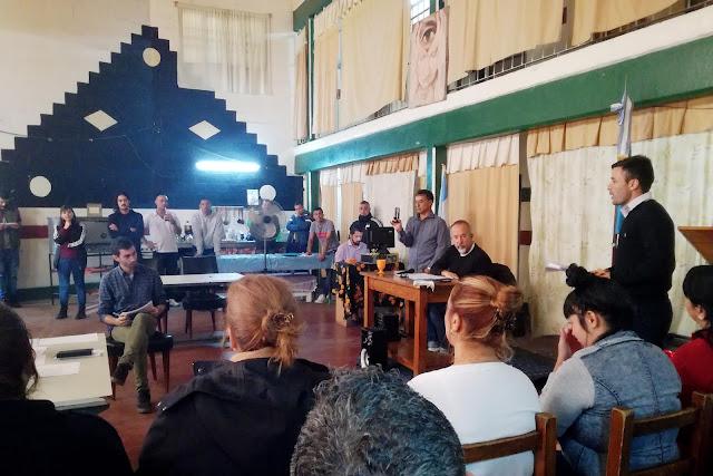 simulacro de juicio por jurados en la cárcel - Perycia