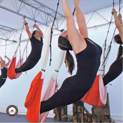 columpio yoga