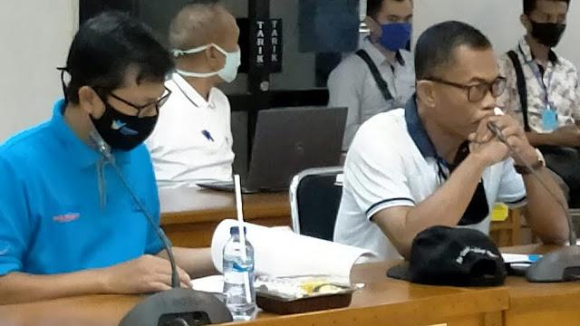 Bupati Subang, H. Ruhimat (kanan) bersama Wakil Bupati Subang,