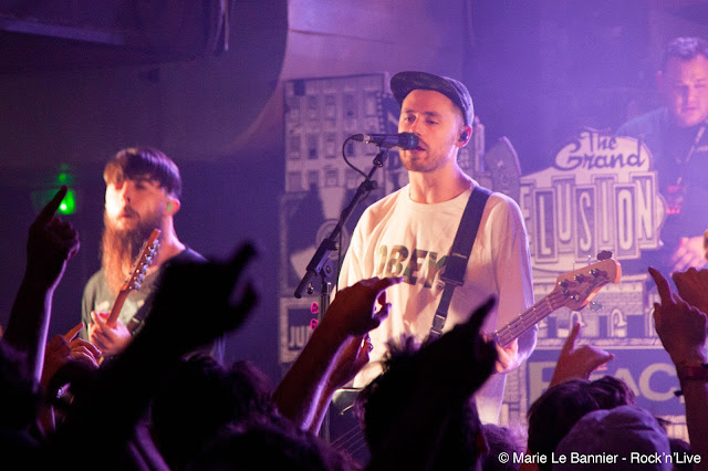Neck Deep Paris Petit Bain Punk Rock Pop Punk Concert Show Rock Live Rock'n'Live Marie Le Bannier Kali Ma