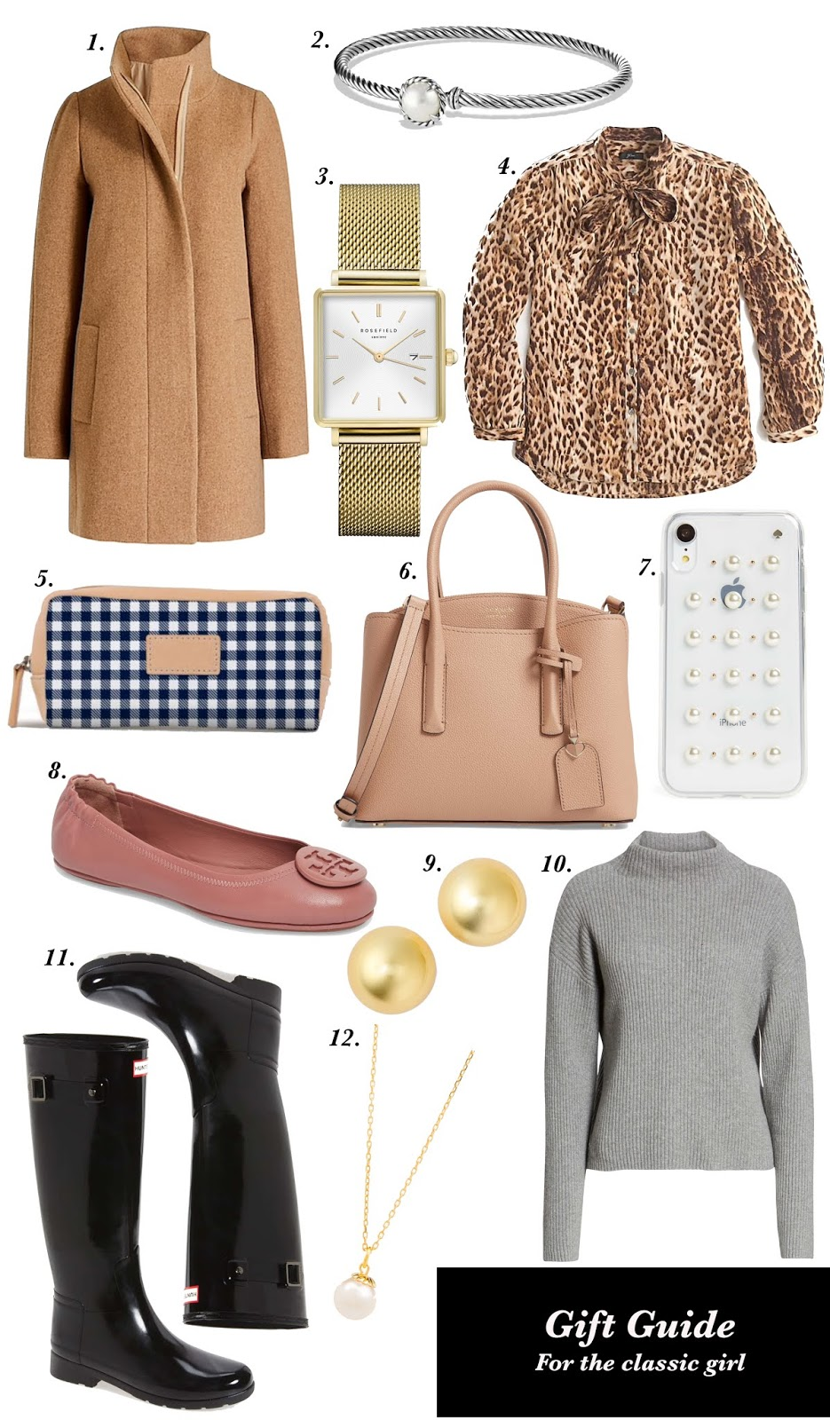 Gift Guide for the Classic Girl - Something Delightful Blog