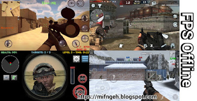 Best offline FPS game in small size