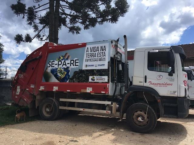 Paralisação dos caminhoneiros pode afetar coleta de lixo no município de Colombo