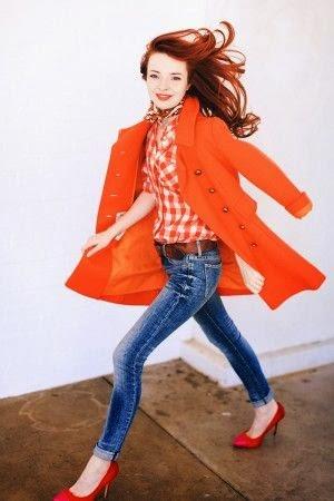 Bright Idea in orange