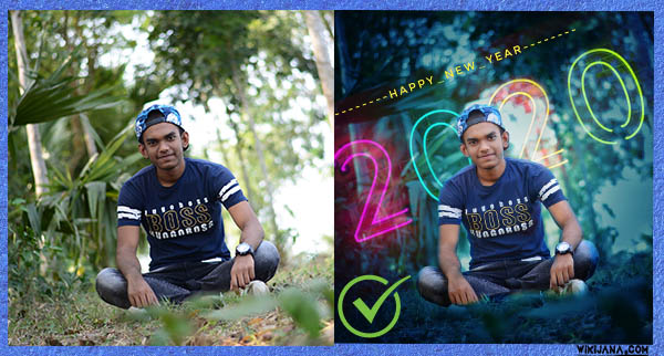 Photo Design Background Any Text Editing