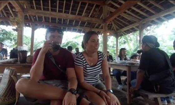 Gina dan Sebastian Turis asal Spanyol dan Jerman Yang Bikin Heboh Karena Pertama Kali Datang ke Wonosalam