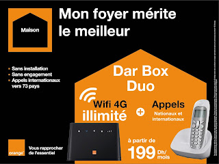 Orange lance la Dar Box DUO L'internet illimité à la maison d'Orange
