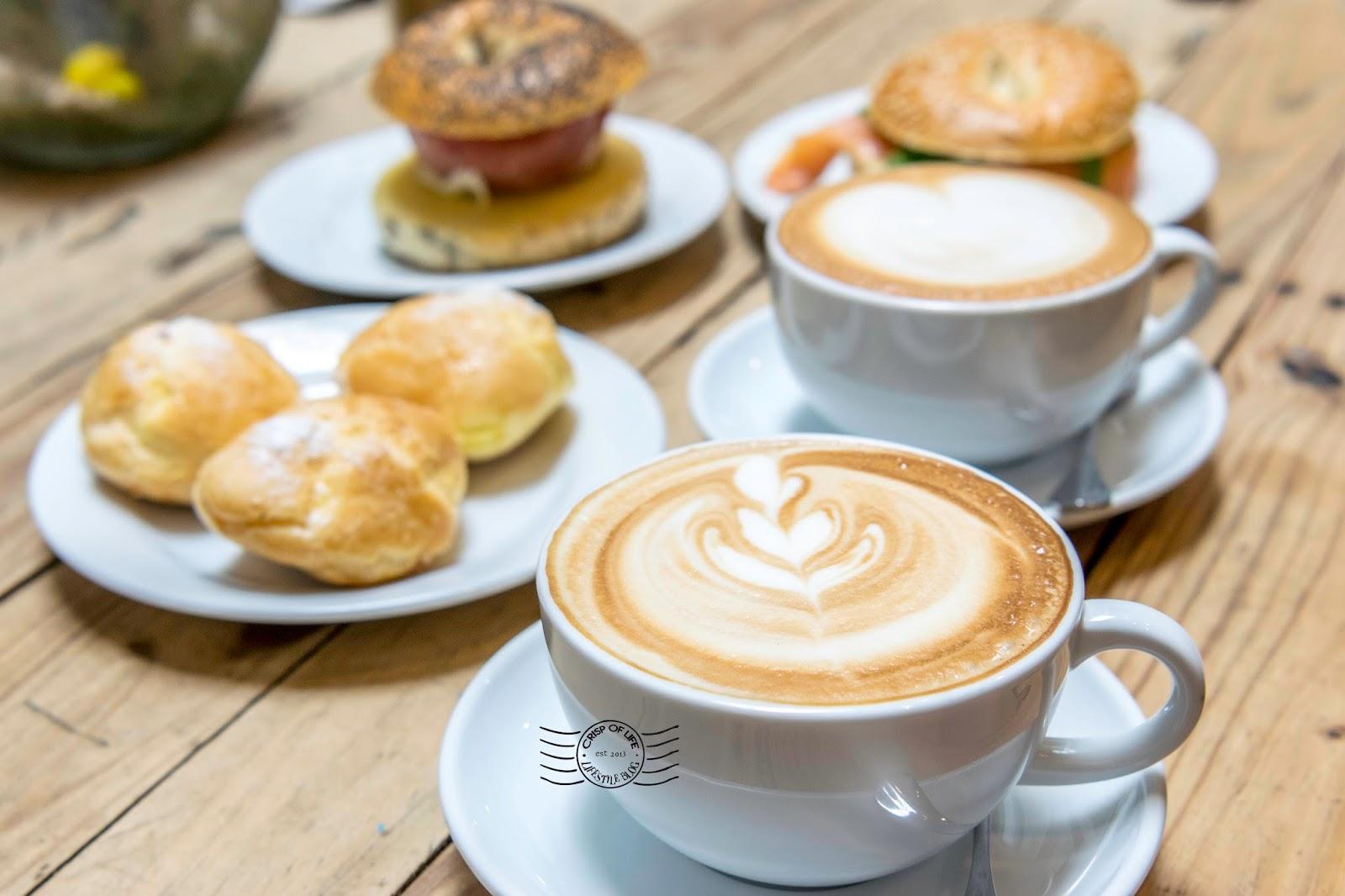 The Mugshot Cafe Rainforeste Bakery Bagel Penang Chulia Street
