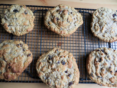 Levain Oatmeal Raisin Cookies