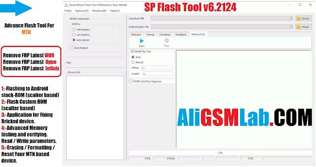 SP Flash Tool v6.2124