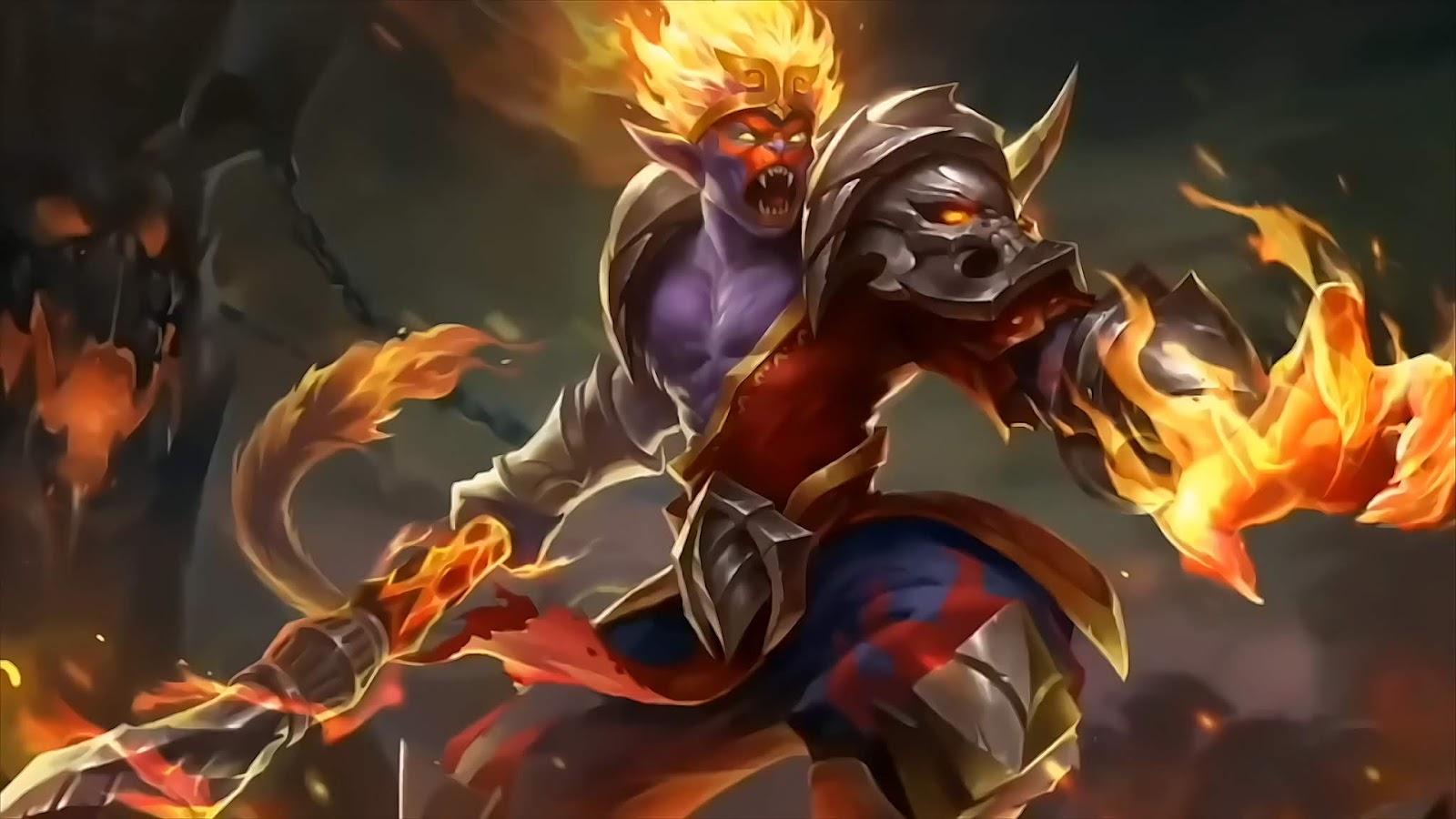 Wallpaper Sun Monkey King Old Skin Mobile Legends Full HD for PC