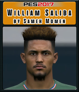 PES 2017 Faces William Saliba by Sameh Momen