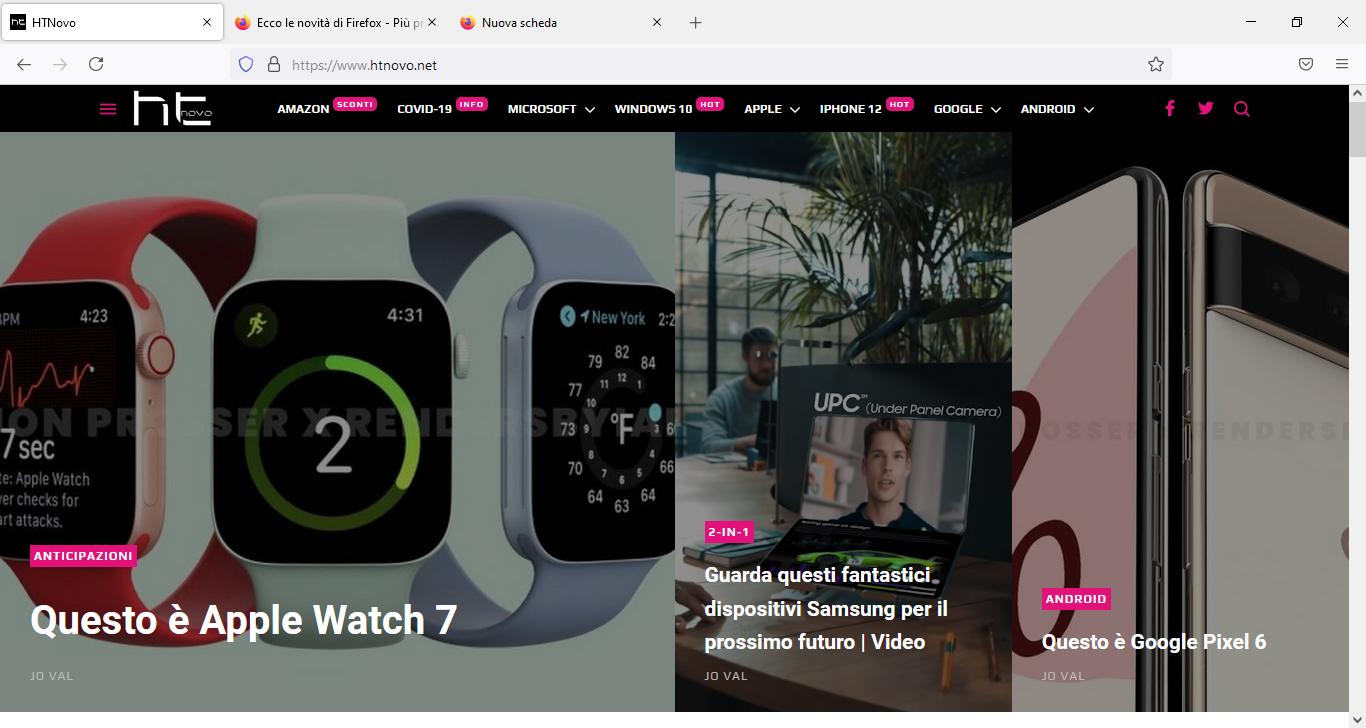 Firefox ha una nuova interfaccia | Video