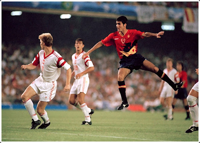 Guardiola Spain Olympics 1992
