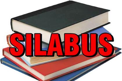 SILABUS dasar gambar teknik mesin
