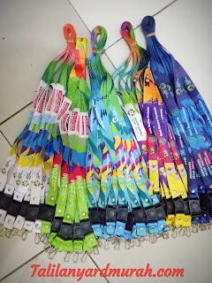 Jual tali lanyard custom harga murah cocok untuk Media promosi