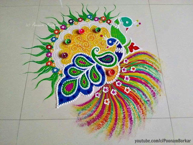 rangoli art designs
