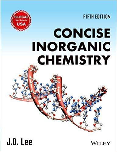 [PDF] Concise Inorganic Chemistry Fifth Edition by J.D. Lee