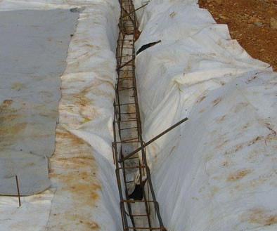 Geotextile is a protection layers