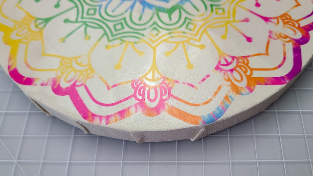 mandalas, clear sticker paper, parchment paper, sticker paper, silhouette cameo project