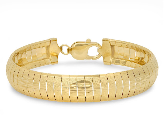 Yellow Gold Cubetto Bracelet