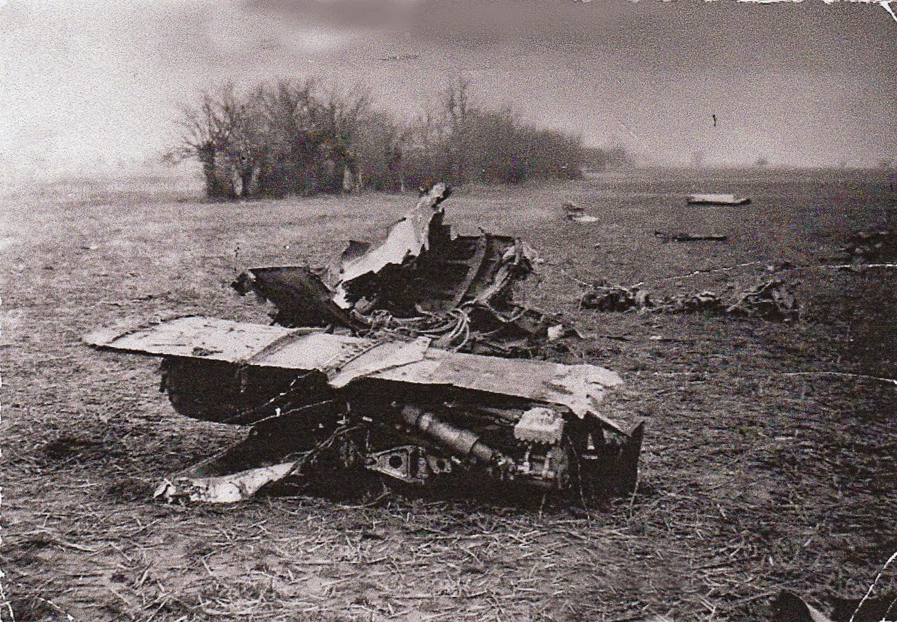 Epave avion janvier 1965 Corbas