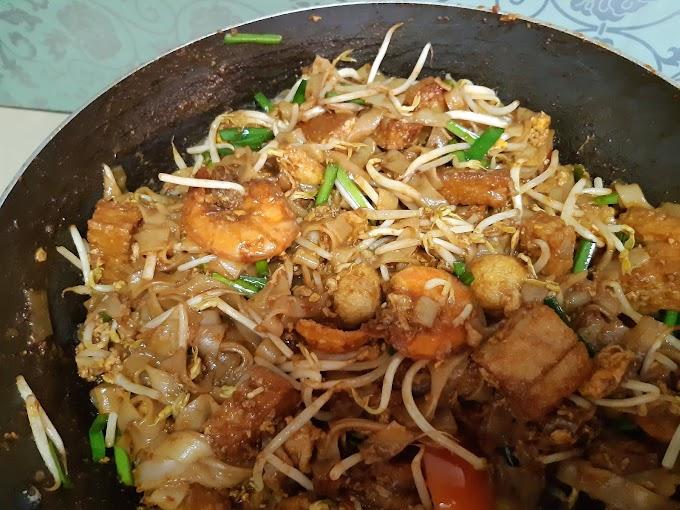 Cara Masak Kuey Teow Goreng Yang Sedap Macam Masakan Mak