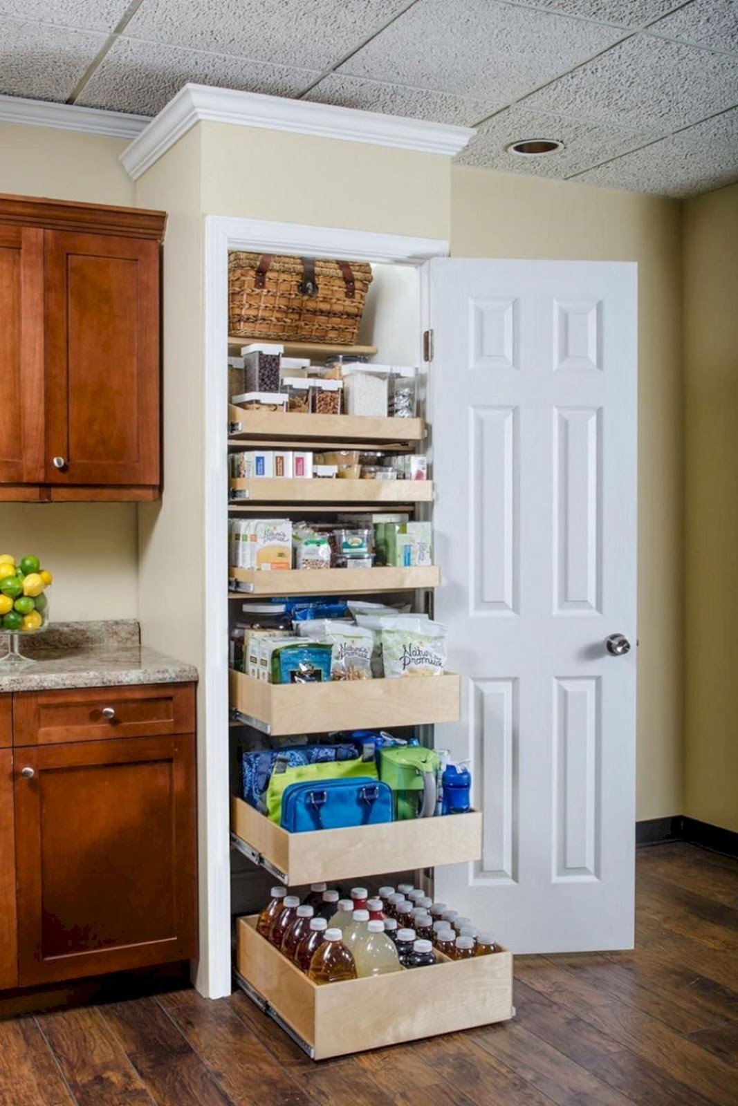 Organizers for a Picture-Perfect Pantry