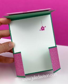 Stampin' Up! Life is Beautiful Dutch Door Card + VIDEO Tutorial #stampinup Aug-Dec 2020 Mini Catalog ~ www.juliedavison.com