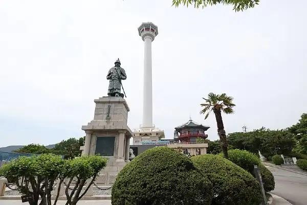 Things to Do in Busan : Yongdusan Park.