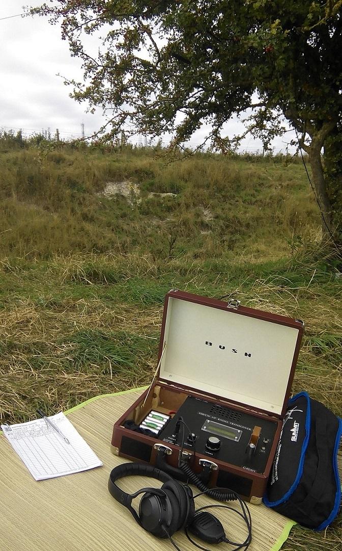 Portable ham radio station