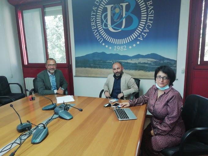Unibas: firmato contratto per l'affidamento del servizio di bar nel Campus di Macchia Romana