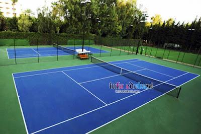 Gambar Lapangan Tenis Lapangan Outdoor