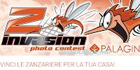 Logo Vinci con Palagina '' Z Invasion'' : vinci gratis le zanzariere per la tua casa