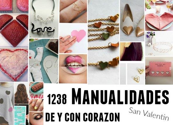 1238 manualidades San Valentín, diys heart,