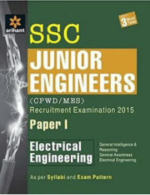 SSC JE Electrical Book Free PDF Download Arihant Publication
