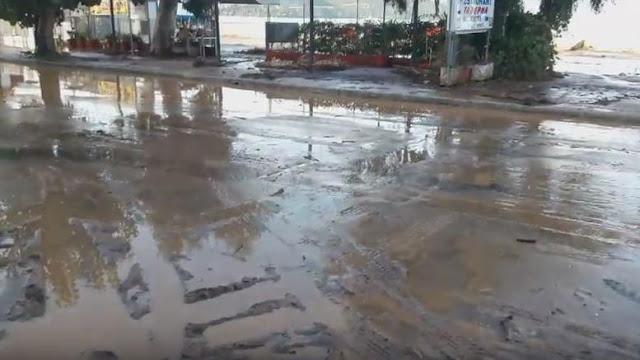 Ήγουμενίτσα: Πλημμύρισε η Ηγουμενίτσα από έντονη βροχόπτωση