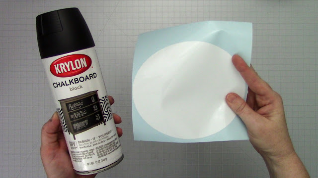 chalkboard vinyl, DIY vinyl, tips and tricks, CAMEO 4, chalkboard spray paint