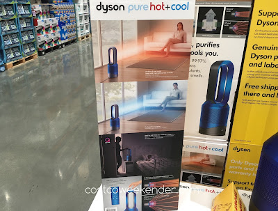 Breathe easier with the Dyson Pure Hot + Cool Link Purifier